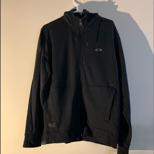 Oakley zip up hoodie jacket